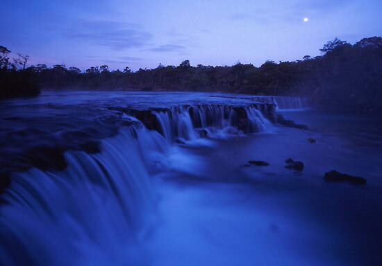 Moonlight falls by Tony Middleton