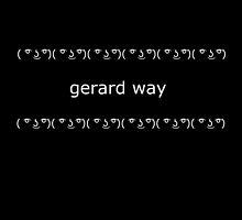 ( ͡° ͜ʖ ͡°) Gerard Way by mayaaubrey