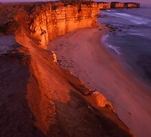 cliffs edge by Tony Middleton