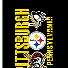 Pittsburgh Sports iPhone Case/Mug by Tim Miklos
