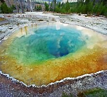 Morning Glory Pool by Mark Ramstead