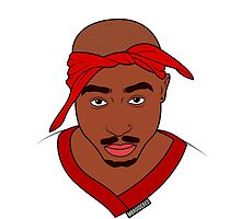 2PAC Art by Solbessx