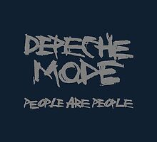 Depeche Mode : People are People - 1 - Grey by Luc Lambert