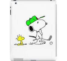 Snoopy on golf iPad Case/Skin