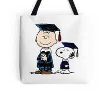 Snoopy graduate Tote Bag