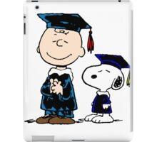 Snoopy graduate iPad Case/Skin