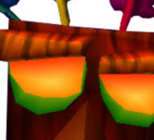 Aku Aku- Crash bandicoot Sticker