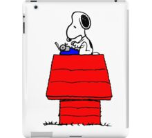 Typewriter Snoopy iPad Case/Skin