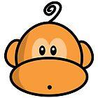 Young rebel monkey II by Richard Eijkenbroek