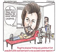 Bee Gee In Therapy  Photographic Print