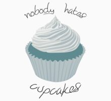 Nobody Hates Cupcakes [BLUE] Kids Clothes