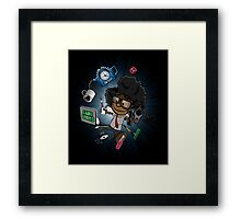 Moss's Happy Place Framed Print