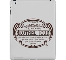 Tyrion Lannister Brothel Tours iPad Case/Skin