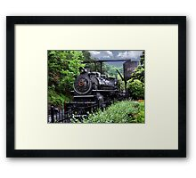 Dollywood Express Baldwin Steamer Train ..PILLOWS AND OR TOTE BAGS..PICTURES,,ECT Framed Print