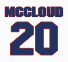 Basketball player George McCloud jersey 20 by imsport