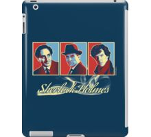 Sherlock Trilogy - X3 Red/Blue iPad Case/Skin