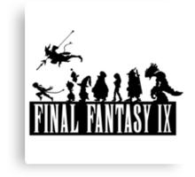 Final Fantasy IX - The Party Canvas Print