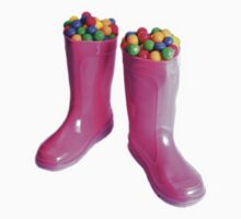Bubblegum Boots by SLRphotography