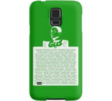 The Many Names of Burton Guster Samsung Galaxy Case/Skin