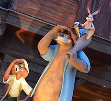 Disney Song of the South Splash Mountain Briers Rabbit, Bear, Fox by notheothereye