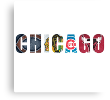 Chicago Sports Canvas Print