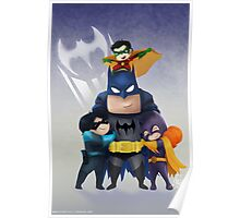 Chibi Bat-Family Poster
