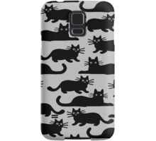Black Cat Samsung Galaxy Case/Skin