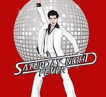 Saturday Night Fever by GualdaTrazos