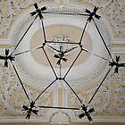 Under the pentagon lamp by Arie Koene