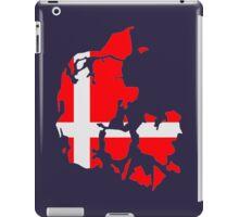 Denmark map flag iPad Case/Skin