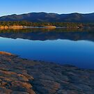 Provence lake panoramic landscape by Patrick Morand
