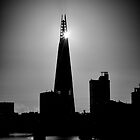 The Shard With The Morning Sun by Graham Prentice