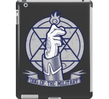 Dog of the Military: Flame iPad Case/Skin