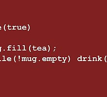 Code for Mug Use - Tea by AdTheBad