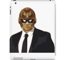 Captain Falcon in Formal Attire iPad Case/Skin