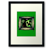 hello-creepers Framed Print