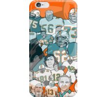 miami dolphins ring of honor iPhone Case/Skin