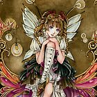 Gears and Glass Steampunk Fairy by meredithdillman