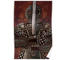 Celtic Knotted Knight Poster