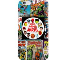 Make Mine Marvel iPhone Case/Skin