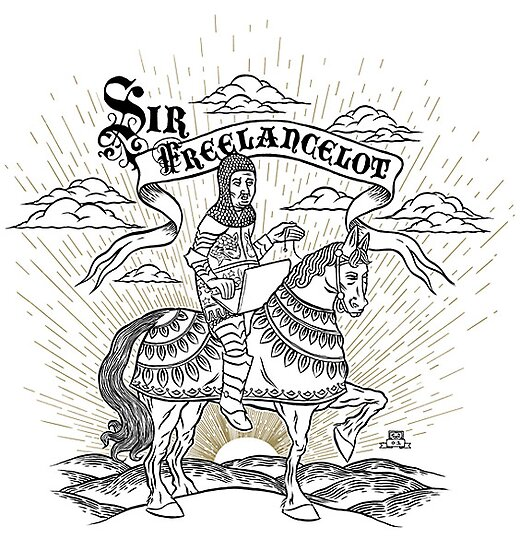 Sir Freelancelot by chopshopstore