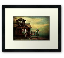 Break Through and Fly Framed Print
