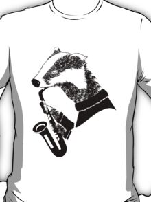 Badger Saxophone T-Shirt
