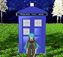 Dr Pluto and the Tardis by LokiLaufeysen