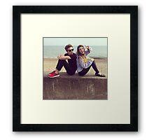 Zoe and Joe  Framed Print