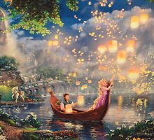 Disney Tangled Disney Rapunzel Floating Lanturns  by notheothereye