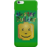 Lego Master Builder for Kids and Kids at Heart iPhone Case/Skin