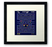 Pacman Fever Framed Print