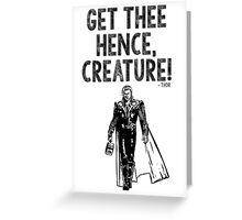 Thor Avengers Greeting Card