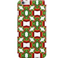 Holly Tree Tracery iPhone Case/Skin